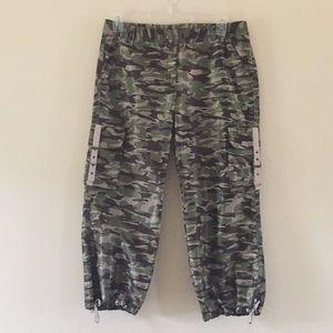 (Express) Camo cargo pants